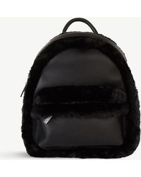 Skinnydip London Luisa Faux-leather Rucksack - Black