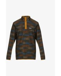 Patagonia Micro D Snap-t Recycled-polyester Sweater - Green