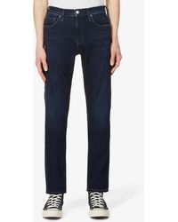 Citizens of Humanity London Straight-cut Stretch Jeans - Blue