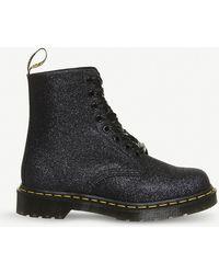 Dr. Martens - Pascal 8-eye Glitter Boots - Lyst