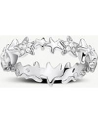 Thomas Sabo - Ocean Stars Sterling Silver Ring - Lyst