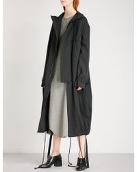 Song For The Mute - Ooft Carbon And Cotton-blend Parka Coat - Lyst