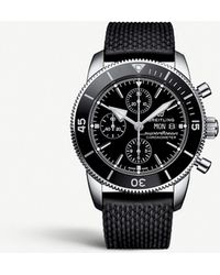 Breitling A13313121b1s1 Superocean Héritage Ii Steel Watch - Black