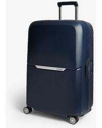 Samsonite Magnum Four-wheel Suitcase 75cm - Blue