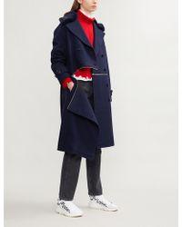 Closed - X Girbaud Convertible Boiled Wool Coat - Lyst