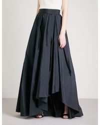 Max Mara Elegante - Tarallo High-rise Satin Maxi Skirt - Lyst