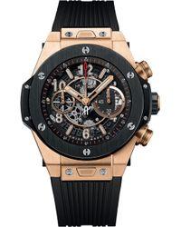 Hublot - 411.om.1180.rx Big Bang King Gold Watch - Lyst