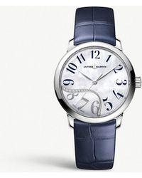 Ulysse Nardin - 81532016003 Classico Jade Stainless Steel And Diamond Watch - Lyst