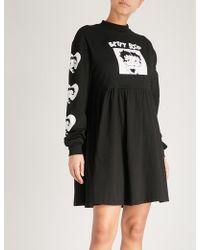 Lazy Oaf - X Betty Boop Cotton-jersey Dress - Lyst