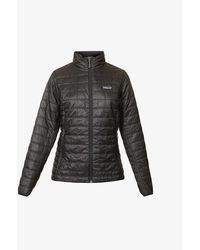 Patagonia Nano Puff Brick-pattern Recycled-polyester Jacket - Multicolour