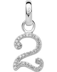 Links of London | Sterling Silver And Diamond Number Charm | Lyst