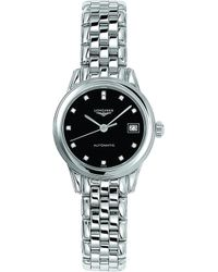 Longines - L4.274.4.57.6 Stainless Steel And Diamond Watch - Lyst