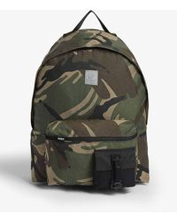 Aape Camouflage Nylon Backpack - Multicolor