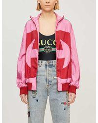 Gucci Logo-print Stretch-jersey Body - Multicolor