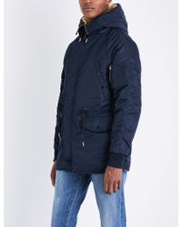 Sandro | Hooded Quilted Coat | Lyst