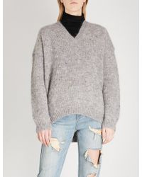 Mo&co. - Heather Knitted Jumper - Lyst