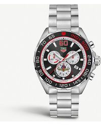 Tag Heuer Caz101v.ba0842 Formula 1 Indy 500 Special Edition Stainless Steel Watch - Black