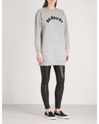 Chocoolate - No Doubt Printed Cotton-jersey Sweatshirt - Lyst