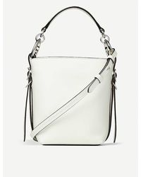 Jimmy Choo Varenne Leather Bucket Handbag - Metallic