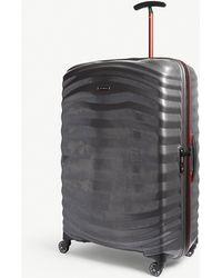 Samsonite Lite-shock Sport Hardshell Spinner Suitcase 81cm - Grey
