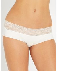 Six - Rosa Stretch-jersey Maternity Briefs - Lyst