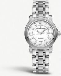 Carl F. Bucherer 00.10637.08.23.21 Patravi Stainless Steel Watch - Metallic