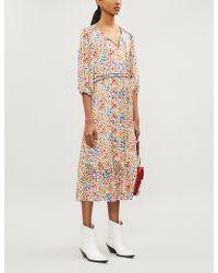 Ba&sh - Reese Floral-print Woven Dress - Lyst