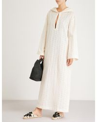 Marysia Swim - Hooded Cotton-broderie Anglaise Dress - Lyst