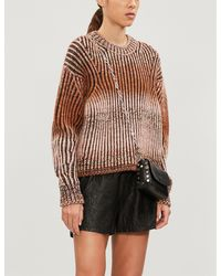 Zadig & Voltaire Textured Leather Shorts - Black