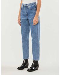 Levi's The Column Organic Cotton Jeans - Blue
