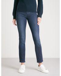 Armani Jeans - J20 Slim-fit Skinny Mid-rise Jeans - Lyst