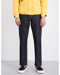 Evisu - Koi-embroidered Regular-fit Striaght Jeans - Lyst