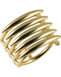Shaun Leane - Quill Gold Vermeil Sterling Silver Ring (small) - Lyst