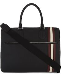 Bally - Seedorf City Grained Leather Briefcase - Lyst