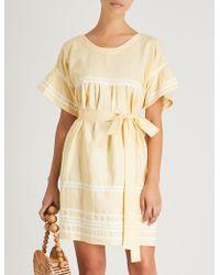 Lisa Marie Fernandez - Fiesta Linen Dress - Lyst