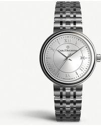 Carl F. Bucherer 00.10314.08.15.21 Adamvi Stainless Steel Automatic Watch - Metallic