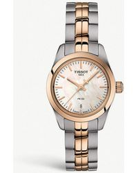 Tissot - T1010102211101 Stainless Steel And Gold Pvd Watch - Lyst