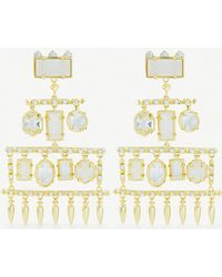 Kendra Scott - Emmylou 14ct Gold-plated - Lyst