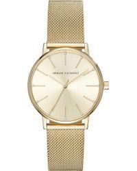 Armani Exchange - Ax5536 Stainless Steel Quartz Watch - Lyst