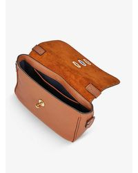 Mulberry Bryn Grained-leather Cross-body Bag - Brown