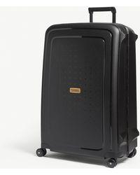 Samsonite S'cure Eco Suitcase 75 Cm - Black