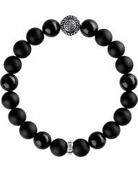 Thomas Sabo Rebel At Heart Sterling Silver Bracelet - Black