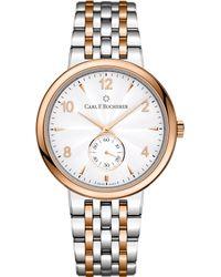 Carl F. Bucherer - 00.10316.07.26.21 Adamavi Stainless Steel Rose-gold Sapphire Crystal Watch - Lyst