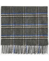 Ted Baker - Wigmore Windowpane Checked Scarf - Lyst