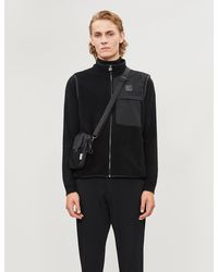 Z Zegna Sleeveless Regular-fit Wool Gilet - Black
