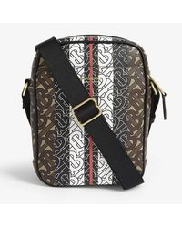 Burberry Tb Print Thornton Cross-body Bag - Brown