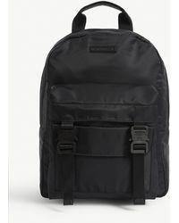 1017 ALYX 9SM Double Front Pocket Backpack - Black