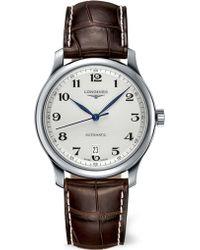 Longines - L26284785 Master Watch - Lyst