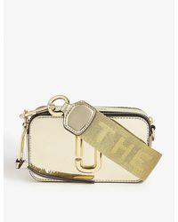 Marc Jacobs Snapshot Pvc Cross-body Bag - Metallic
