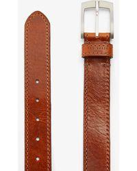 Ted Baker Dagen Leather Belt - Brown